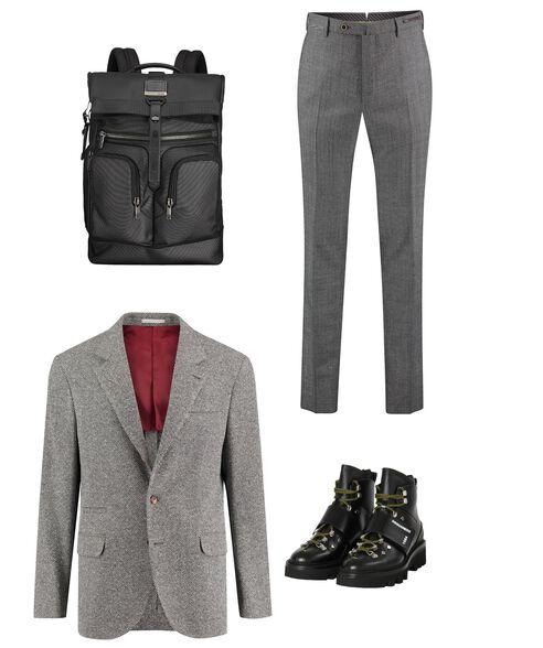 Outfit - Backpack On