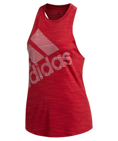 "Damen Fitness-Tanktop ""Badge of Sport"""