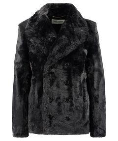 Damen Faux Fur Jacke