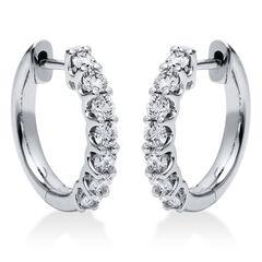 Damen Diamantcreolen