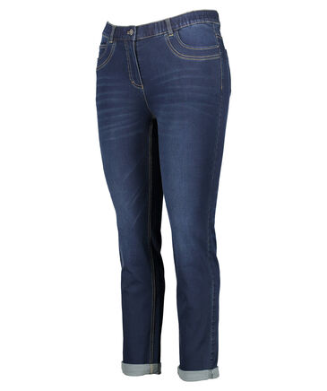 Samoon - Damen Jeans Straight Fit Plus Size