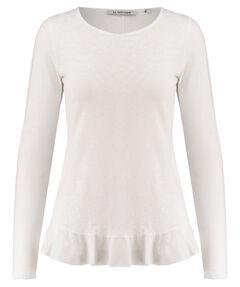 """Damen Shirt """"Slub LS Peplum"""" Langarm"""