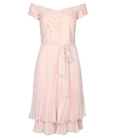 "Damen Abendkleid ""Archie Pleated Midi Dress"""