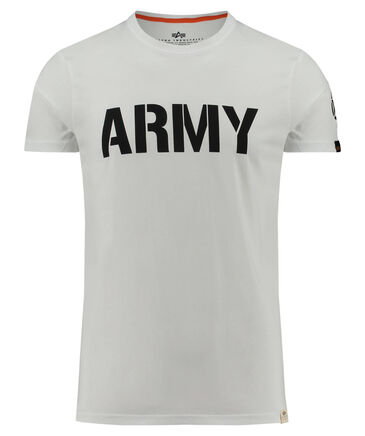 "Alpha Industries - Herren T-Shirt ""Army"""