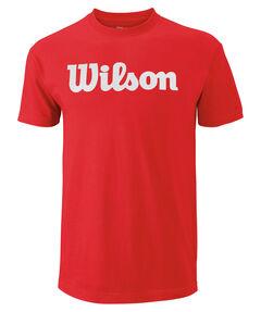 """Herren Tennisshirt """"Script Cotton Tee"""" Kurzarm"""