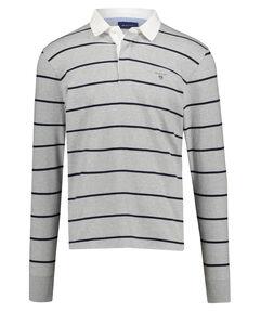 "Herren Poloshirt ""Breton"" Langarm"