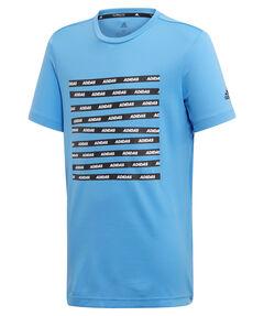 """Jungen Trainings-T-Shirt """"All Caps"""""""