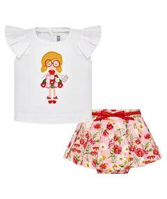 Mädchen Baby Set T-Shirt und Rock