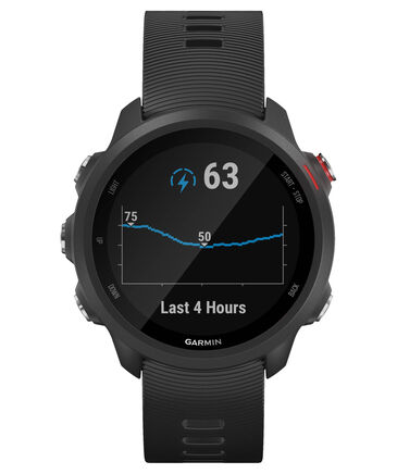 """Garmin - GPS-Laufuhr """"Forerunner 245 Music"""" schwarzes Armband"""