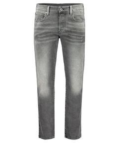 "Herren Jeans ""3301 Straight Antic Charcoal"" Regular Fit"