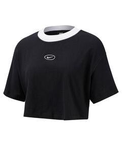 Damen T-Shirt cropped
