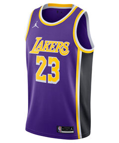 "Herren Basketballtrikot ""NBA LeBron James Los Angeles Lakers Statement Edition 2020"""