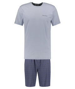 Herren Pyjama-Set Kurz zweiteilig