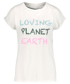"Damen T-Shirt ""Planet Earth"""