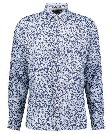 Marc O'Polo - Herren Leinenhemd Regular Fit Langarm