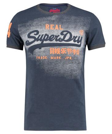"Superdry - Herren T-Shirt ""Vintage Logo Duo Ringer"""