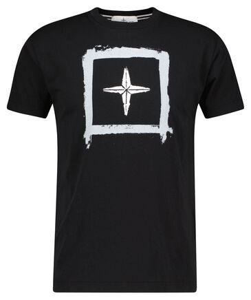 "Stone Island - Herren T-Shirt ""Big Logo Print"""