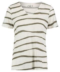 Damen Leinen-T-Shirt