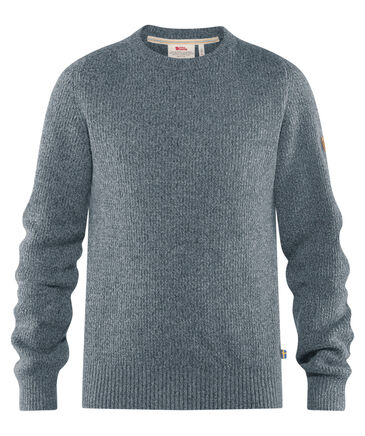 "FJÄLLRÄVEN - Herren Strickpullover ""Greenland Re-Wool"""