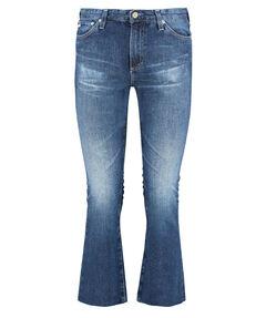 """Damen Jeans """"The Jodi Crop"""" High Rise Slim Flare Cropped"""