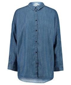 "Damen Hemdbluse ""Longline Shirt Bleached Denim"""