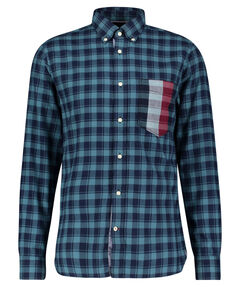 """Herren Flanellhemd """"Gingham Global Stripe Shirt"""" Regular Fit Langarm"""