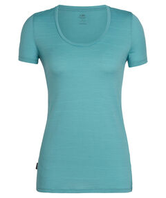 "Damen Outdoor-Shirt ""Tech Lite Short Sleeve Scoop Lines Landscape"" Kurzarm"