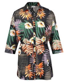 Damen Long-Bluse Comfort Fit 3/4-Arm