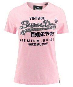 "Damen T-Shirt ""Premium Goods Sequin Entry"""