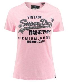 "Damen T-Shirt ""Premium Goods Sequin Entry"""