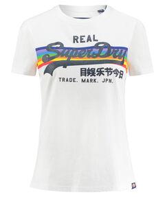"Damen T-Shirt ""Logo Retro Rainbow Entry Tee"""