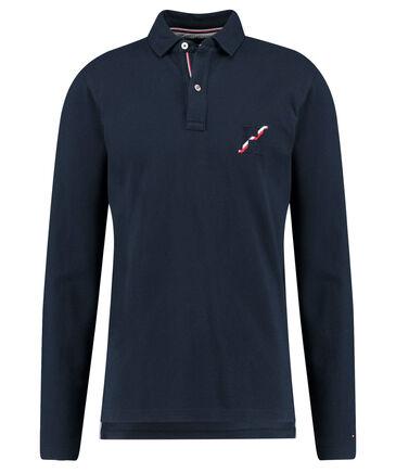 Tommy Hilfiger - Herren Poloshirt Regular Fit Langarm