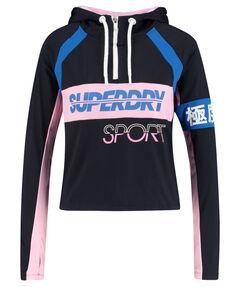 """Damen Sweatshirt mit Kapuze """"Sport Sprint 1/2 Ziphood"""""""
