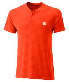 "Herren Tennisshirt ""Power Seamless Henley-Shirt"""