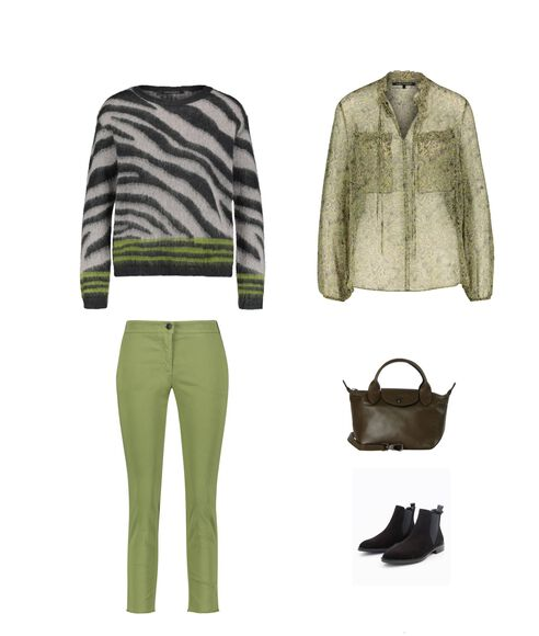 Outfit - African Greens