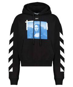 """Herren Sweatshirt """"Blue Mona Lisa"""""""