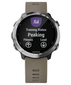 """GPS-Laufuhr """"Forerunner 645"""" sandsteinfarbenes Armband"""