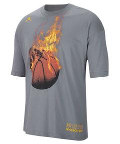 "Herren Basketball-Shirt ""Jordan Legacy AJ4"" Kurzarm"