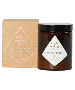 """entspr. 26,34 Euro/100 gr. - Inhalt: 150 gr. Duftkerze """"White Forest Scented Candle"""""""