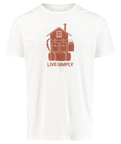 "Herren Outdoor-Shirt ""Men´s Live Simply Home Organic"" Slim Fit"