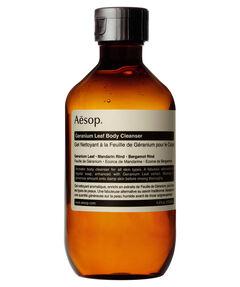 """entspr. 9,50 Euro / 100 ml - Inhalt: 200 ml Körperreiniger """"Geranium Leaf Body Cleanser"""""""