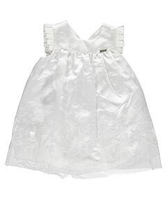 """Mädchen Baby Kleid """"Taufkleid Schmetterlinge"""" Ärmellos"""