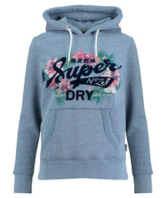 "Damen Kapuzensweatshirt ""Tropical Burst"""