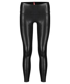 """Damen Leggings """"Faux Leather Side Stripe"""""""