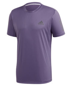 "Herren Tennisshirt ""Club 3 Stripes"""
