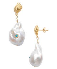 "Damen Ohrringe ""Baroque Pearl Shell"""