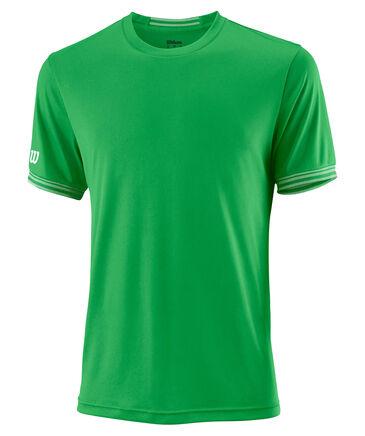 "Wilson - Herren Tennisshirt ""Team Solid Crew"" Kurzarm"