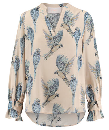 "IVI Collection - Damen Bluse ""Birdy"" Langarm"