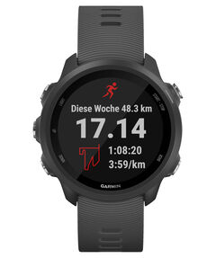 """GPS-Laufuhr """"Forerunner 245"""" graues Armband"""