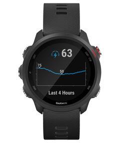 """GPS-Laufuhr """"Forerunner 245 Music"""" schwarzes Armband"""